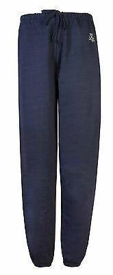 Womens Joggers Tracksuit Bottoms Loose Fit Dance Jogging Pants Navy Size 10 - 12