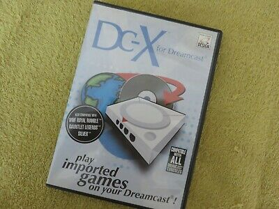 Sega Dreamcast - DC-X Boot Disc (play imported games)