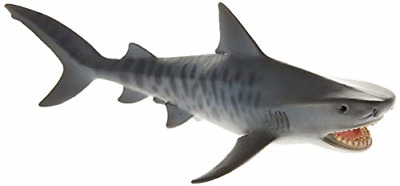 Tiger Shark Figure Plastic Action Play Toy Children Games Sea Figure