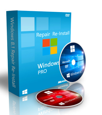 Windows 8 Pro Repair Recovery Disk + Drivers + ISO Download 64 bit (German)