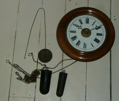 Antique postman's alarm with all original parts - for spares or restoration