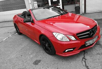 Mercedes Benz E350 Sport cdi Blue 2010 auto convertible 1Year MOT Low Milage