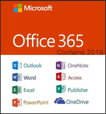 Office 365 Pro 5 PC 5 MAC office2019/2016 New Account -Complete