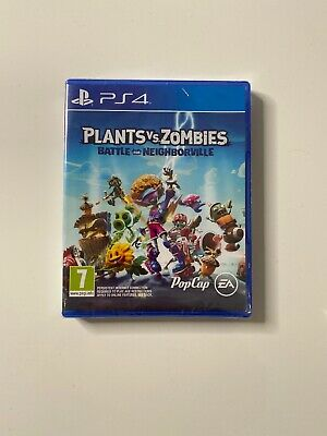Plants Vs Zombies: Battle For Neighborville - PAL PS4 Game NEW FACTORY SEALED