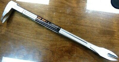 """DALLUGE 4320 04320 DA Bar 14"""" Chrome Plated Double End Cat's Paw Nail Puller NEW"""