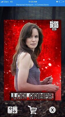 Topps Walking Dead Card Trader: 2020 Embers Motion- LORI GRIMES digital