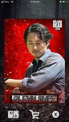 Topps Walking Dead Card Trader: 2020 Embers Motion- GLENN RHEE digital