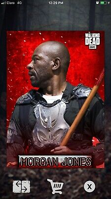 Topps Walking Dead Card Trader: 2020 Embers Motion- MORGAN JONES digital
