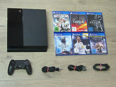 Sony PS4 Konsole 500GB + Original Controller + Gratis Spiel - Playstation 4