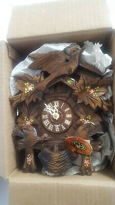 Original Black Forest Cuckoo Clock Germany Lador Swiss Musical Movement