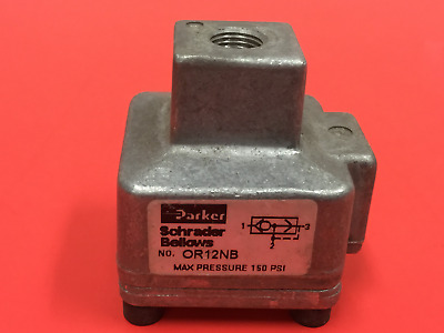 Parker - P/N: OR12NB - Quick Exhaust Shuttle Valve - UNUSED