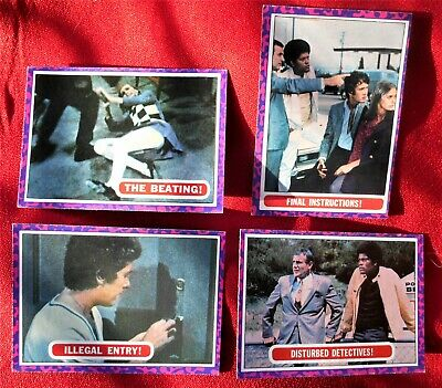 (4) 1968 Topps MOD SQUAD cards, NrMt (#s 14, 21, 26, 28)