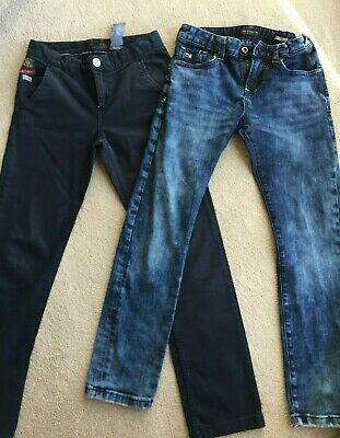 Boys aged 10, Scotch Shrunk Jeans and IKKS Navy Chinos Bundle - Great Condition