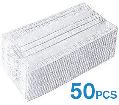 50 PCS Disposable Earloop Surgical Mask Filters Bacteria Breathable 3 Layer