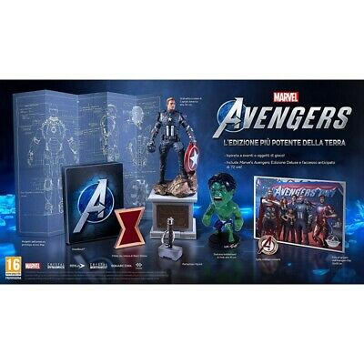 Preordine 1 settembre 2020 - MARVEL'S AVENGERS COLLECTOR'S EDITION Xbox One