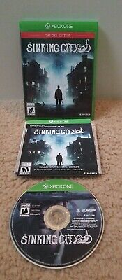 The Sinking City Day One Edition (Xbox One, 2019) CIB - Fast Free Shipping