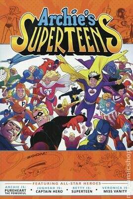 Archie Crusaders #2A 2018 Shannon NM Stock Image Archie/'s Superteens vs