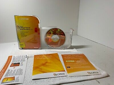 Microsoft Office Home And Student 2007 GENUINE Win32 79G-00007-complete- Working
