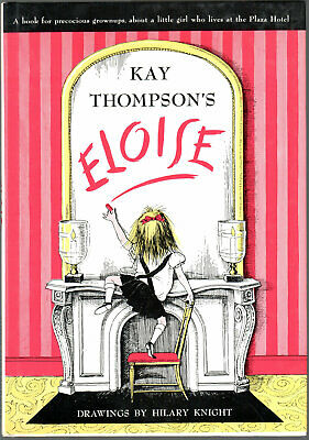 Vintage Eloise by Kay Thompson Book for Precocious Grown Ups HC/DJ 1983
