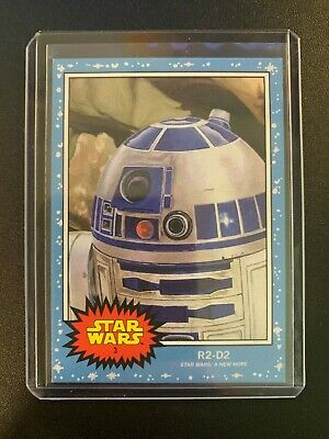 2019 Topps Star Wars Living Set  #3 R2-D2
