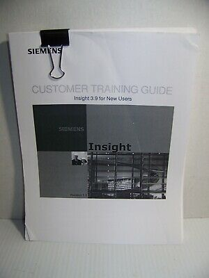 Siemens Training Guide Insight 3.9 |Automation|