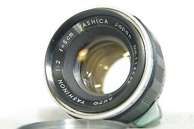 Yashica Auto Yashinon 5cm 50mm F/2 MF Lens SN115006 for M42 Mount from Japan