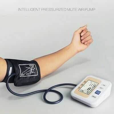 Auto LCD Digital Arm Blood Pressure Monitor Voice Broadcast Sphygmomanometer US