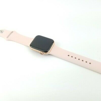 Apple Watch Series 5 GPS + LTE 44mm - Pink - Unlocked, Financed Esn, Excellent
