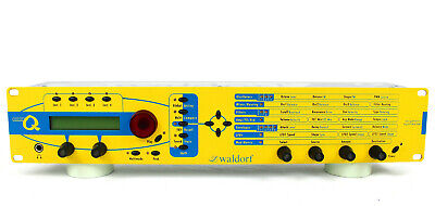 Waldorf Micro Q Modeling Polyphonic Analog Synthesizer Yellow Synth + /GEWÄHR/