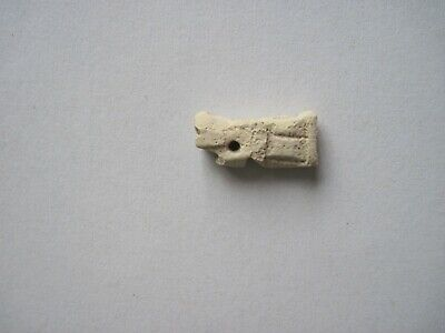 Ancient Egyptian Faience Amulet 600 Bc Serpent Deity