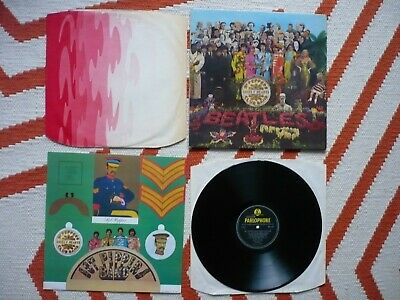 The Beatles Sgt. Pepper's Lonely Hearts Club Band Vinyl UK Mono 1st Press LP