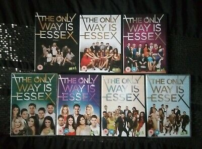 The Only Way Is Essex Complete Series 1 - 7 DVD Boxset TOWIE Joey Essex