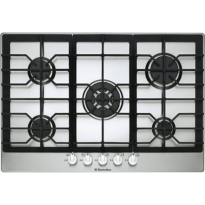 ELECTROLUX EHG7822X Stainless Steel 5 Ring Gas Cooker Hob 75cms WILL POST!