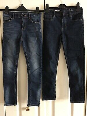NEXT Boys Skinny Jeans 2 Pairs Age 9 & 10