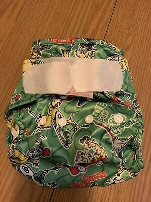 Dr Seuss By Bumkins Cloth Diaper Cover Aplix