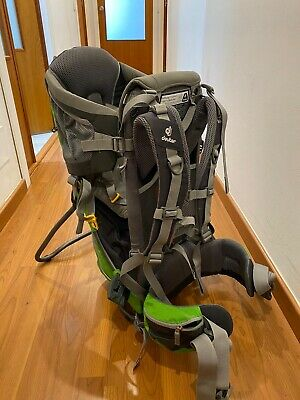 Deuter Kid Air Comfort Back Carrier With Sun And Rain Covers