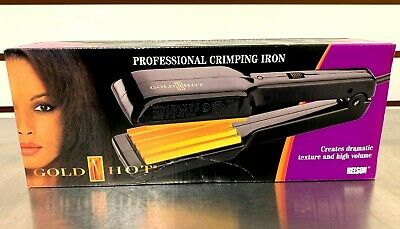 Belson Gold N Hot Professional Crimping Iron