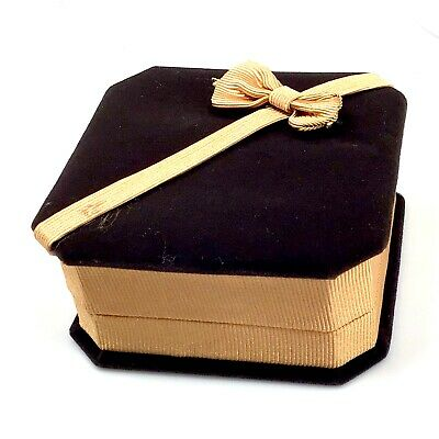 High Quality Gift Box 4x4 inches Square Box Bracelet Women Men Jewelry Supply