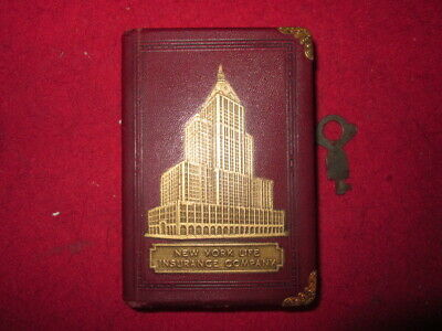 New York Life Insurance Company Coin Book Bank/ Vintage