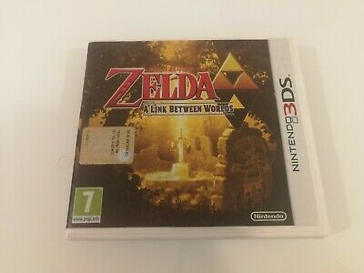 THE LEGEND OF ZELDA A LINK BETWEEN WORLDS - NINTENDO 3DS 2DS Italiano perfetto