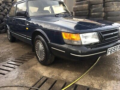 SAAB 900i 1989 F REGISTRATION 118 PETROL 1 PREVIOUS OWNER CLASSIC CAR