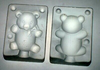 "1975 Duncan Ceramics Mold TM1 "" Teddy Bear"""
