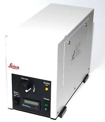 LEICA EL6000 Fiber Optic / Fluorescence Light Source / Microscope Lamp - Working