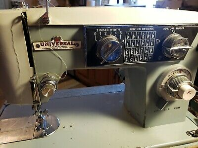 Universal Standard Sewing Machine Zigzag Vintage Model 2470