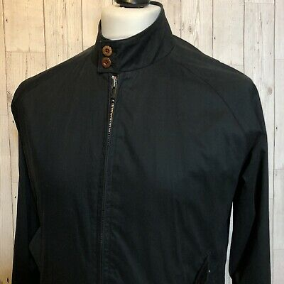 Ben Sherman Harrington Jacket. Small. Black. Mod Indie Ska Skin Perry G9