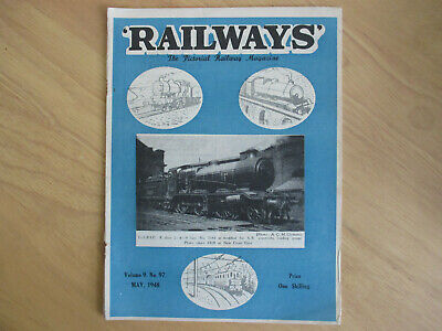 May 1948 Edition of 'Railways' - The Pictorial Railway Magazine.