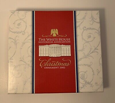 The White House Historical Association Christmas Ornament 2002