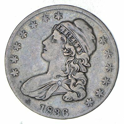 1836 Capped Bust Half Dollar - Circulated *8964