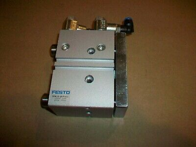Festo Pneumatic Guided Thrust Cylinder DFM-25-20-P-A-GF   USED