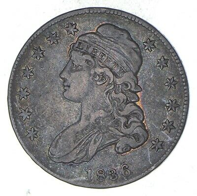 1836 Capped Bust Half Dollar - Circulated *8963